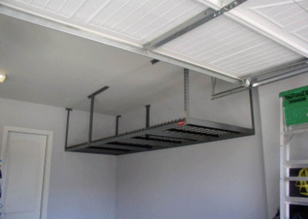 and overhead ceiling lowes best storage ideas hanging on rack google