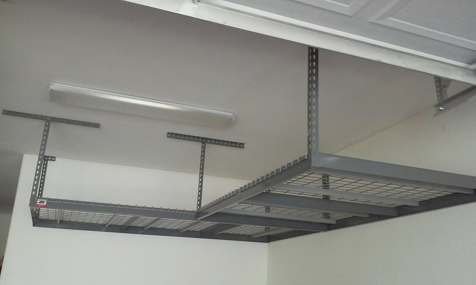 Our Overhead Garage Storage Shelves System Ceiling Racks